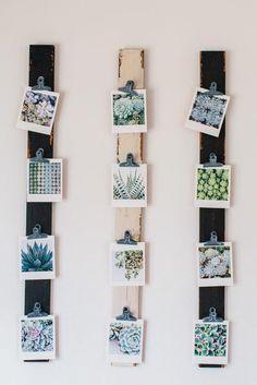 appendere le foto decorare casa
