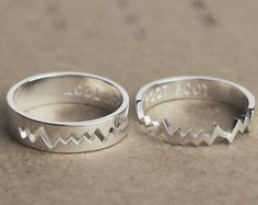 Promise Rings Couples Ring Promise Rings For Couples by JewelryRB