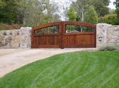 Driveway Entry Gates Design Ideas, Pictures, Remodel, and Decor