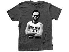 Abe Lincoln New York T-Shirt.