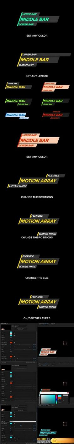 Motion Array – Flexi Lower Third After Effects Templates After Effects Projects, After Effects Templates, Typographic Design, Typography, Lower Thirds, Font Art, Text Layout, Sports Graphics, Motion Design