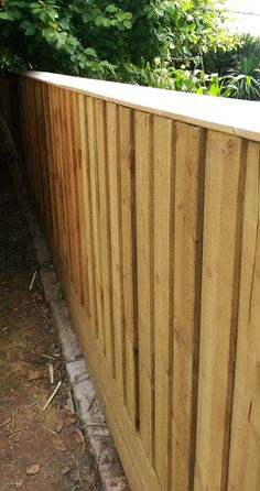 Handmade Fencing In Somerset From Solid Natural Wood By MarcWoodJoinery