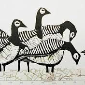 animal lino prints - Google Search