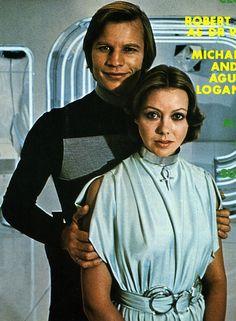 Michael York and Jenny Agutter in Logan's Run