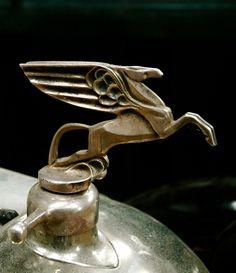 1927 Amilcar CGSs mascot - Classic, gorgeous #HoodOrnament