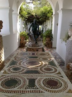 Italian Villas: Villa san Michele, Anacapri, Capri, Italy
