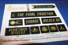 Kidecals Trekkie Keycals Review Keyboard Stickers, Adhesive, Make It Yourself, Mom, House, Home, Mothers, Homes, Keyboard Sticker