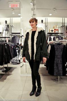 Mode de rue Streetstyle blog mode Montreal street style blog Isabel MArant HM Camelia Desrosiers
