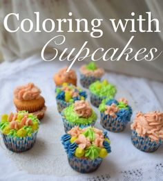 Kill Them With Chic » Coloring with Cupcakes