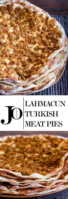 Lahmacun (Turkish Meat Pies) - Lahmacun or Turkish Meat Pies – much better than pizza, and a lot healthier. The Effective Pictur - Armenian Recipes, Bosnian Recipes, Lebanese Recipes, Turkish Recipes, Armenian Food, Scottish Recipes, Lebanese Meat Pies, British Recipes, Hungarian Recipes