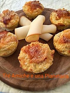 Sformatini di patate e formaggio French Toast, Dairy, Cheese, Breakfast, Food, Morning Coffee, Meals, Yemek, Eten