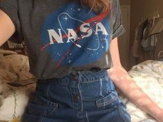 Imagem de nasa, denim, and clothes