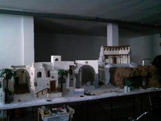 Foro de Belenismo - Proyectos en desarrollo -> Construcción belén 2012 Christmas Villages, Nativity, Outdoor Decor, Villas, Diorama, Portal, Scale, Xmas, Log Projects