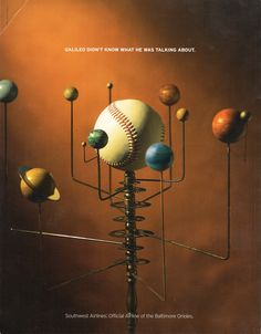 Ad for Southwest Airlines backcover of Orioles Magazine, Issue 1, 2003