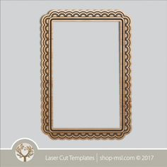 Product laser cut photo frames template, online laser cut design store. @ shop-msl.com Frame Template, Templates, Cut Photo, Kids Decor, Laser Cutting, Frames, Wall Art, Mirror, Store