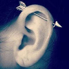 The Arrow Industrial | 28 Adventurous Ear Piercings To Try This Summer