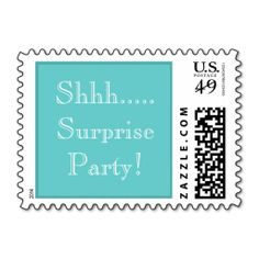 Teal I Do Diamond Ring Wedding Postage Mail And Stationery