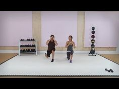 "Killer Leg and Butt Exercises with Brooke Burke - Workout Wednesday with ModernMom. The last ones called ""skiers"" really burn"