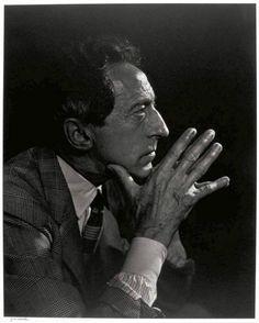 Jean Cocteau 1955, Yousuf Karsh