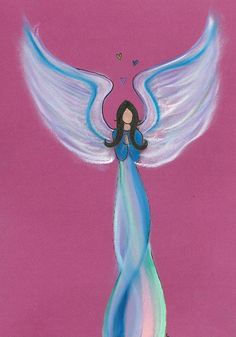 Faith get your own intuitive angel drawing from www.angelsco.nl <3