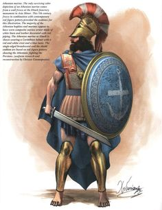 Athenian warrior 5th c.