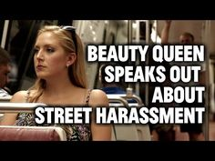 Woman wears secret camera to show what street harassment looks like.... Very good video