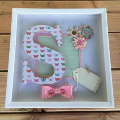 "Shadowbox for girl 12""x12"" - Mercari: Anyone can buy & sell"