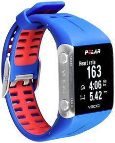 Polar V800 Blue GPS Running watches+HR monitor in Original box 90048948