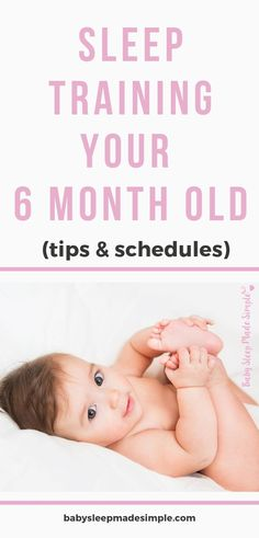Expert tips on how to sleep train your 6 month old, and the steps that will get your baby sleeping through the night. Includes samples of daily feeding, activity and sleep schedules and solutions to common problems, like the 6 month sleep regression. 6 Month Old Sleep, 6 Month Sleep Schedule, Baby Schedule, 6 Month Old Baby, Help Baby Sleep, Toddler Sleep, How To Sleep, Child Sleep, 6 Month Sleep Regression