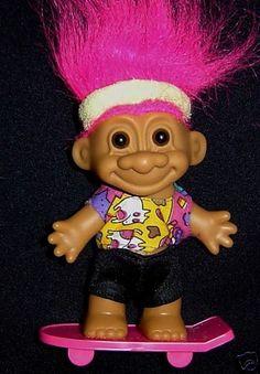troll dolls | Skater Skateboarder 5″ Russ Troll Doll NEW | Addicted to Trolls