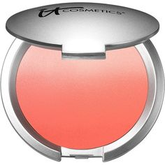 It Cosmetics CC+ Radiance Ombre Blush, Coral Flush 0.38 oz (11 ml) (€22) ❤ liked on Polyvore featuring beauty products, makeup, cheek makeup, blush, beauty, cheeks, coral blush, waterproof blush, it cosmetics blush and it cosmetics