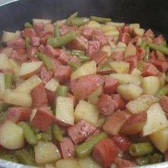 Recipes I Found on Facebook and Gathered Here!: Crockpot Slop (Disgusting name - great meal! )