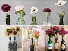 vasinhos com garrafa cerveja - Pesquisa Google