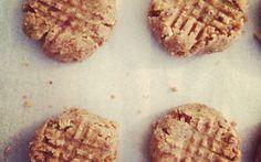 Raw Peanut Butter Cookies.