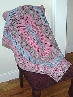 Pretty!  Ravelry: Soft Pinks pattern by Terrece Beesley and Jo Packham