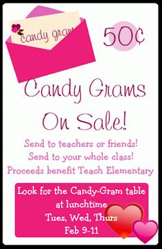 candy grams | CandyGrams and Booster Club Officers