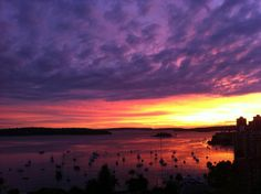 Super moon followed by Super dawn, Sydney.  Submitted by: @joeobrien24  May 7, 2012