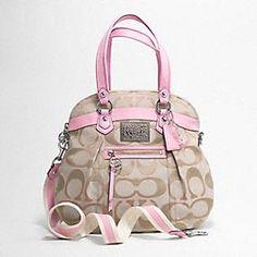 My next purse - Coach poppy signature sateen lurex highlight $298.00