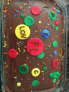 Agario birthday cake.