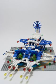 I like to play with my lego set sometimes. Classic Lego, Classic Toys, Legos, Lego Vintage, Lego Space Station, Lego Boards, Lego Spaceship, Cartoon Toys, Lego For Kids