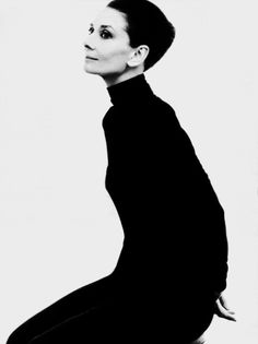Audrey Hepburn photograph by Steven Meisel, 1991. scanned and adjusted by rareaudreyhepburn