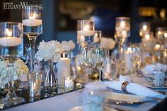Image result for wedding table candles