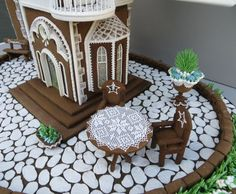 Gingerbread Dream House by Cakes by Beatriz