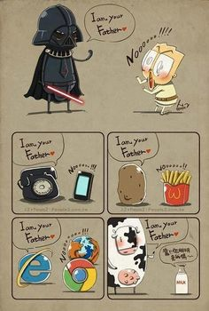 """I am your father"" moments"