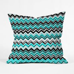 Energize your space with this colorfully magnetizing throw pillow. Custom made for every order, this heavy-weight indoor pillow is fashioned from woven polyester, is printed on both sides, and has a concealed zipper for easy care.