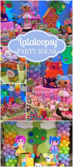 What an incredible Lalaloopsy party! Love the details! See more party ideas at CatchMyParty.com!