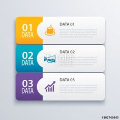 Vector: 3 infographic tab index banner design vector and marketing template business. Can be used for workflow layout, diagram, annual report, web design. Business concept with steps processes.