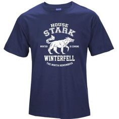 COOLMIND cotton casual breathable game of thrones men t shirt cooleticdress Game Of Thrones Men, The North Remembers, House Stark, Cool T Shirts, Tees, Casual, Mens Tops, Cotton, Sleeve