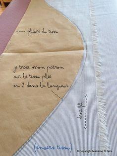 Girl Dress Patterns, Blouse Patterns, Skirt Patterns, Maxi Dress Tutorials, Fleece Hats, Fabric Dolls, Fabric Sewing, Couture Sewing, Pattern Drafting