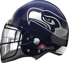 Helmet NFL Seattle Seahawks Balloon